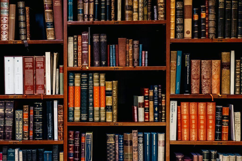 インテリジェンスコンバージョンサービスのイメージ たくさんの書籍